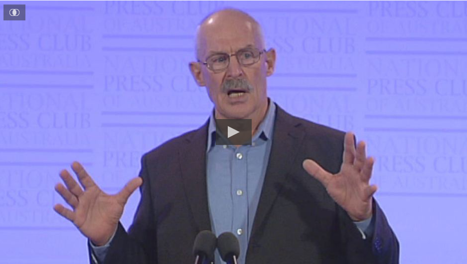 National Press Club: Dr Barry Kirby